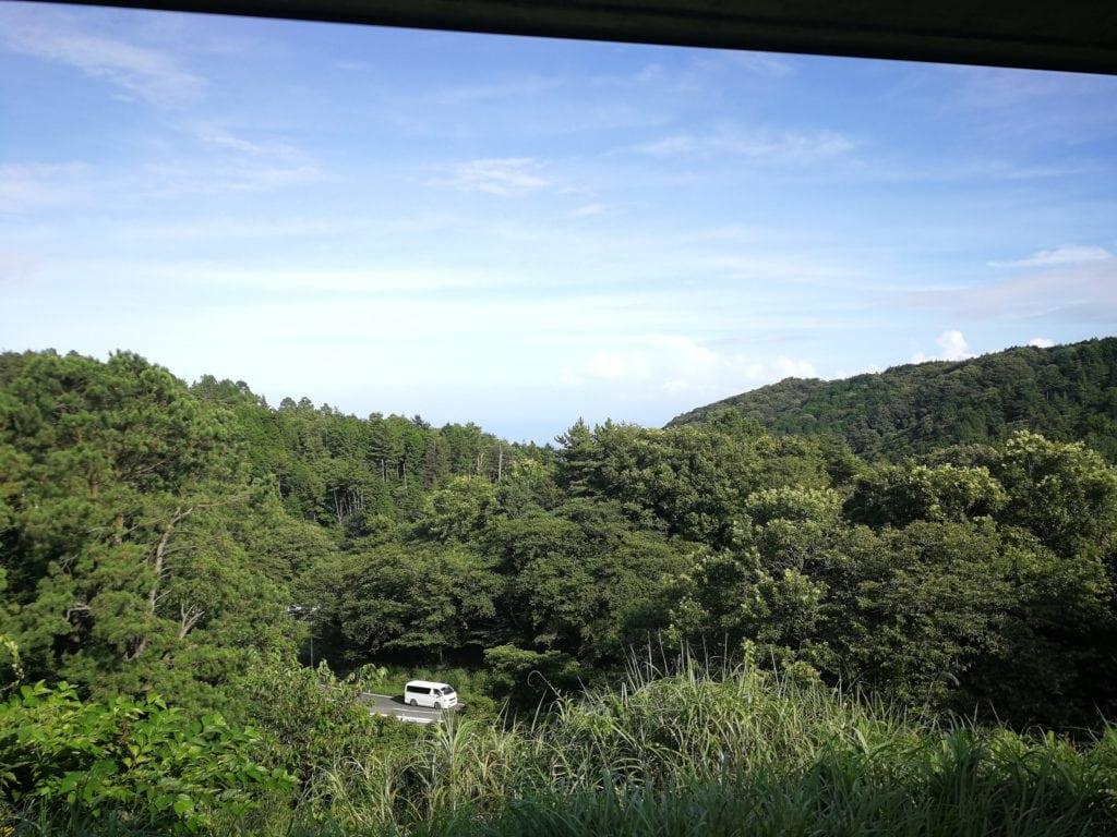 スカイポート亀石からの景色