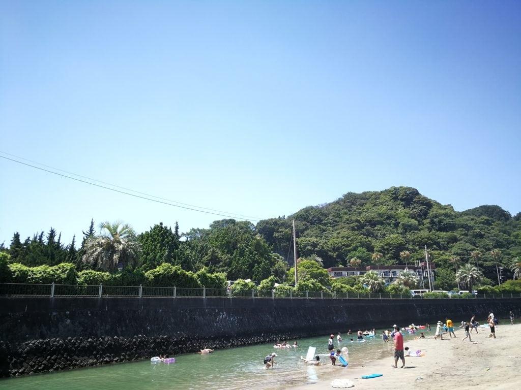 下田の舞磯海水浴場