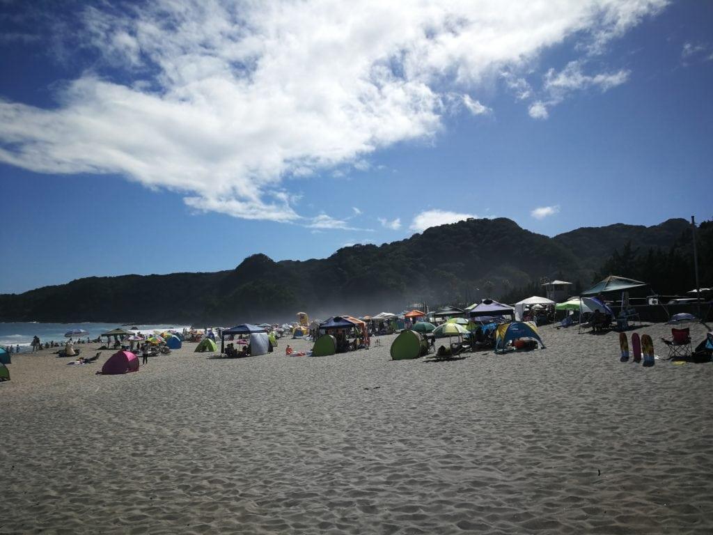 大浜海水浴場 砂浜