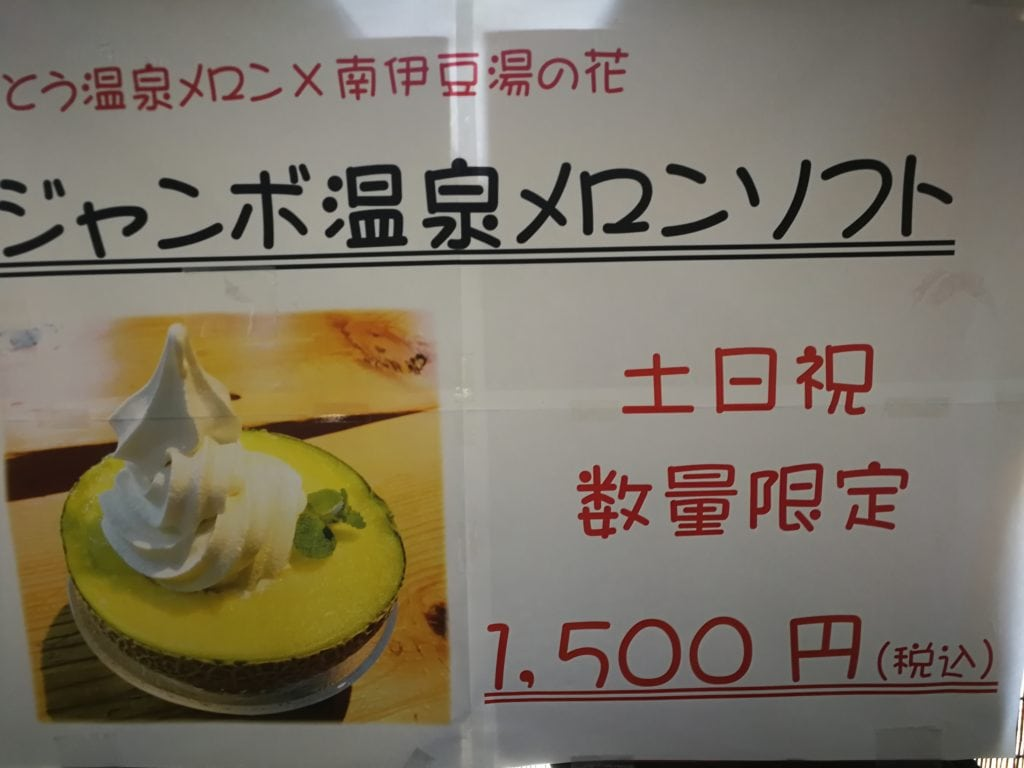 下田 温泉メロン
